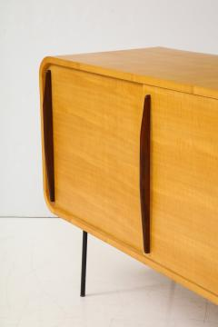 Raphael Furniture France Modernist Double Faced Sycamore Credenza by Raphael - 1116554