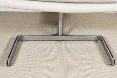 Raphael Furniture France Pair of Raphael chairs with metal base upholstered in Belgian linen - 1467324