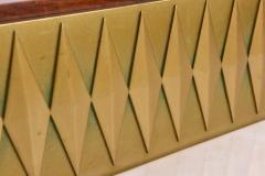 Raphael Furniture Rare French Modern Mahogany Bronze and Brass Bar Cabinet Raphael - 403397