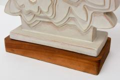 Raymor Pair of Italian Modern Ceramic Lamps Raymor - 61077