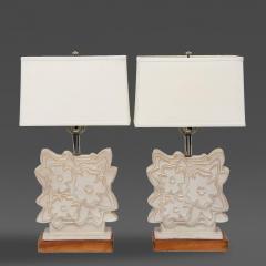 Raymor Pair of Italian Modern Ceramic Lamps Raymor - 63830