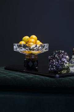 Reflections Copenhagen Arizona Crystal Candleholder Handsculpted Contemporary Crystal - 887329