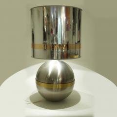 Reggiani REGGIANI SPHERICAL CHROME WITH BRASS TABLE LAMP - 1800314