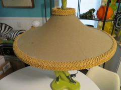 Reglor Fantastic Reglor of California Male Fencer Lamp with Original Shade circa 1951 - 1708939