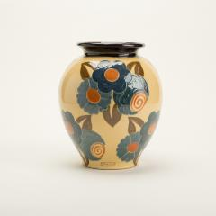 Ren Nicole French Art Deco ceramic flower vase by Ren Nicole - 1913923