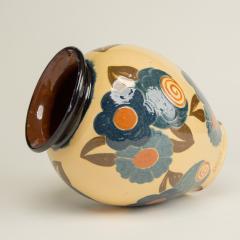 Ren Nicole French Art Deco ceramic flower vase by Ren Nicole - 1913928