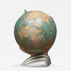 Replogle Art Deco Desk Illuminated Globe