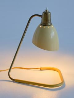 Robert Caillat Robert Caillat Table Lamp with Yellow Adjustable Shade France 1950s - 2011032