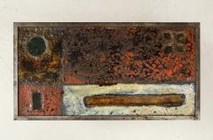 Robert Jean Cloutier Enameled Lava Coffee Table by Robert Jean Cloutier c 1960 - 1865892