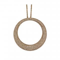Roberto Coin Roberto Coin Circle Necklace - 449193