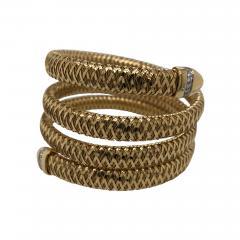Roberto Coin Roberto Coin slinky snake cuff - 1734908