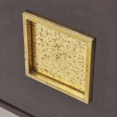 Roberto Mito Block Lacquered mahogany cabinet by Roberto Mito Block - 1589128