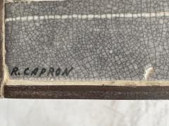 Roger Capron COFFEE TABLE BY ROGER CAPRON CERAMIC TABLE AU SOLEIL SUN MOTIF VALLAURIS C 1965 - 1928389