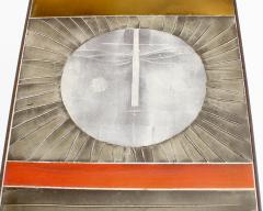 Roger Capron COFFEE TABLE BY ROGER CAPRON CERAMIC TABLE AU SOLEIL SUN MOTIF VALLAURIS C 1965 - 1928394