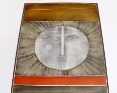Roger Capron COFFEE TABLE BY ROGER CAPRON CERAMIC TABLE AU SOLEIL SUN MOTIF VALLAURIS C 1965 - 1928396