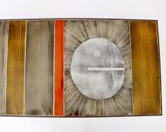 Roger Capron COFFEE TABLE BY ROGER CAPRON CERAMIC TABLE AU SOLEIL SUN MOTIF VALLAURIS C 1965 - 1928399