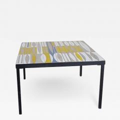 Roger Capron Ceramic Coffee Table France 1960s - 1938357
