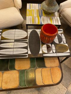 Roger Capron Ceramic Coffee Table France early 60s - 1928755