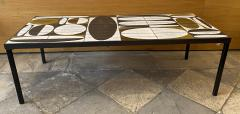 Roger Capron Ceramic Coffee Table France early 60s - 1928756