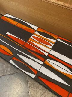 Roger Capron Ceramic Coffee Table Navettes France 1960s - 1928621