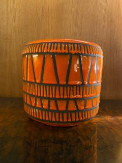 Roger Capron Ceramic Vase Flowerpot France 1960s - 2012899