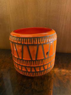 Roger Capron Ceramic Vase Flowerpot France 1960s - 2012901