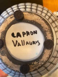 Roger Capron Ceramic Vase Vallauris France 1950s - 2055057