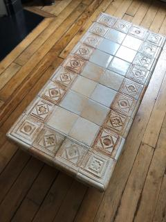 Roger Capron Ceramic coffee table France 1960s - 2061994