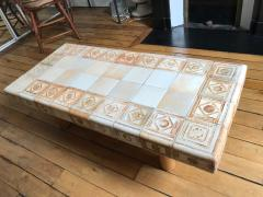 Roger Capron Ceramic coffee table France 1960s - 2061998