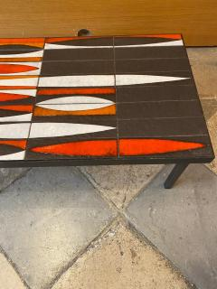 Roger Capron Ceramic coffee table Navettes France 1960s - 1928631