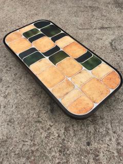 Roger Capron Ceramic coffee table model Shogun Vallauris France early 1970s  - 2060458