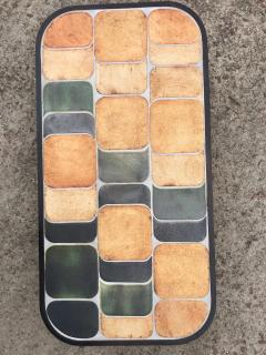 Roger Capron Ceramic coffee table model Shogun Vallauris France early 1970s  - 2060462