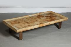 Roger Capron Cuvette Coffee Table with Ceramic Tile Top by Roger Capron France circa 1960 - 1958868
