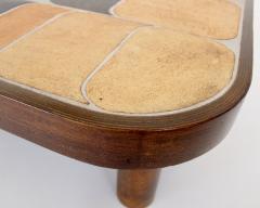 Roger Capron FRENCH CERAMIC ARTIST ROGER CAPRON CERAMIC TILE COFFEE TABLE MODEL SHOGUN - 1894902