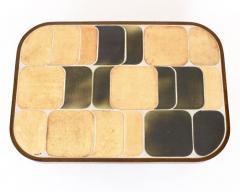 Roger Capron FRENCH CERAMIC ARTIST ROGER CAPRON CERAMIC TILE COFFEE TABLE MODEL SHOGUN - 1894911