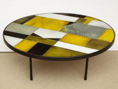 Roger Capron ROGER CAPRON ROUND LOW TABLE - 1814991
