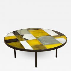 Roger Capron ROGER CAPRON ROUND LOW TABLE - 1815770