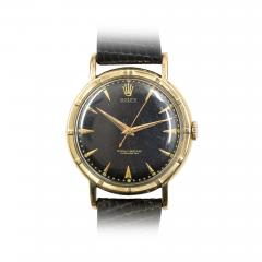 Rolex 1950s Rolex Gold Thunderbird Bezel Chronometer Watch - 316496
