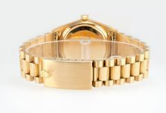 Rolex Rolex Gold President Watch Spanish Day Wheel and Bark Finish Ref 1807 1962 - 181453