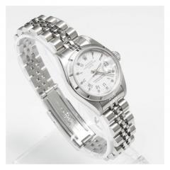 Rolex Rolex Ladys Stainless Steel Date Wristwatch - 393620