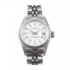 Rolex Rolex Ladys Stainless Steel Date Wristwatch - 404467