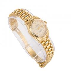 Rolex Rolex Ladys Yellow Gold Datejust Wristwatch Ref 179178 circa 2002 - 393800