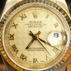Rolex Rolex Ladys Yellow Gold Datejust Wristwatch Ref 179178 circa 2002 - 393802
