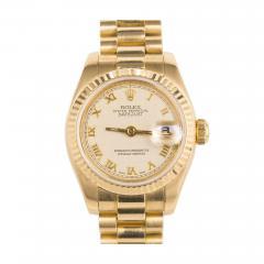Rolex Rolex Ladys Yellow Gold Datejust Wristwatch Ref 179178 circa 2002 - 404471