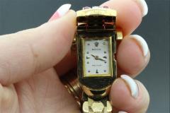 Rolex Rolex Rare Retro 1950s Vintage Ruby Diamond Bracelet Wristwatch - 867447