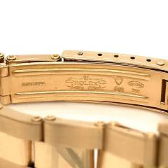 Rolex Watch Co ROLEX DATE OYSTER 18K YELLOW GOLD LADIES 26MM DIAL WATCH - 1744631