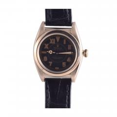 Rolex Watch Co Rolex Collectors Edition 14K Gold Wrist Watch with Mercedes Hands - 1962810