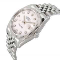 Rolex Watch Co Rolex Datejust 116234 Mens Watch in 18kt Stainless Steel White Gold - 1839368