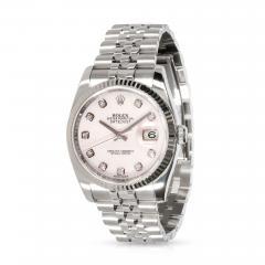 Rolex Watch Co Rolex Datejust 116234 Mens Watch in 18kt Stainless Steel White Gold - 1839974