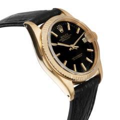 Rolex Watch Co Rolex Datejust 6827 Unisex Vintage Watch in 18kt Yellow Gold - 1839384